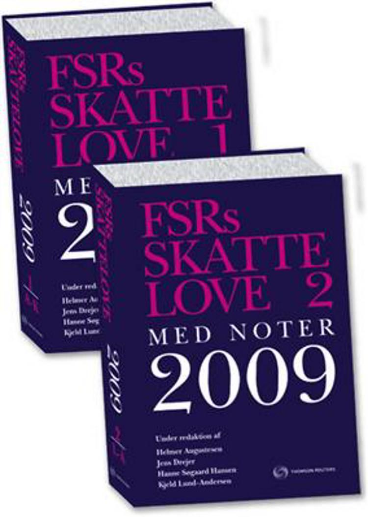 FSRs skattelove med noter