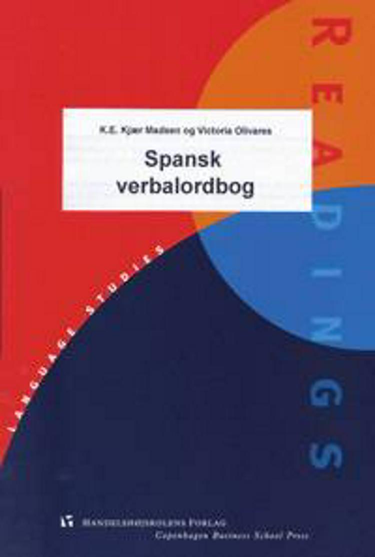 Spansk verbalordbog af K. E. Kjær Madsen og Victoria Olivares