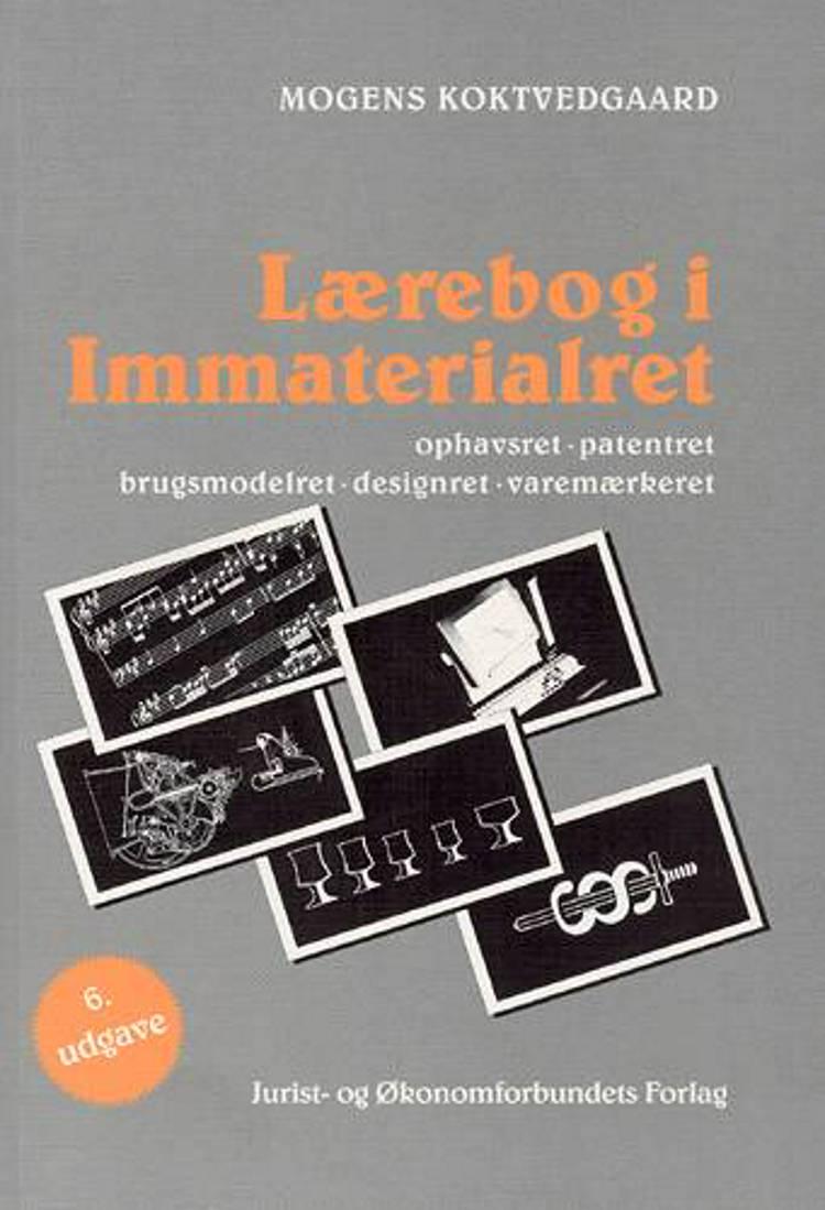 Lærebog i immaterialret af Mogens Koktvedgaard og Jens Schovsbo