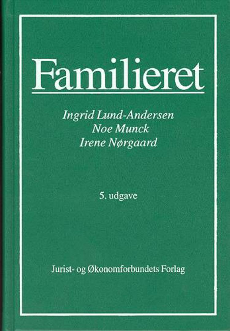 Familieret af Ingrid Lund-Andersen, Ingrid Lund-Andersen m. fl., Irene Nørgaard, Noe Munck, Caroline Adolphsen, Eva Naur Jensen og Caroline Adolphsen og Eva Naur