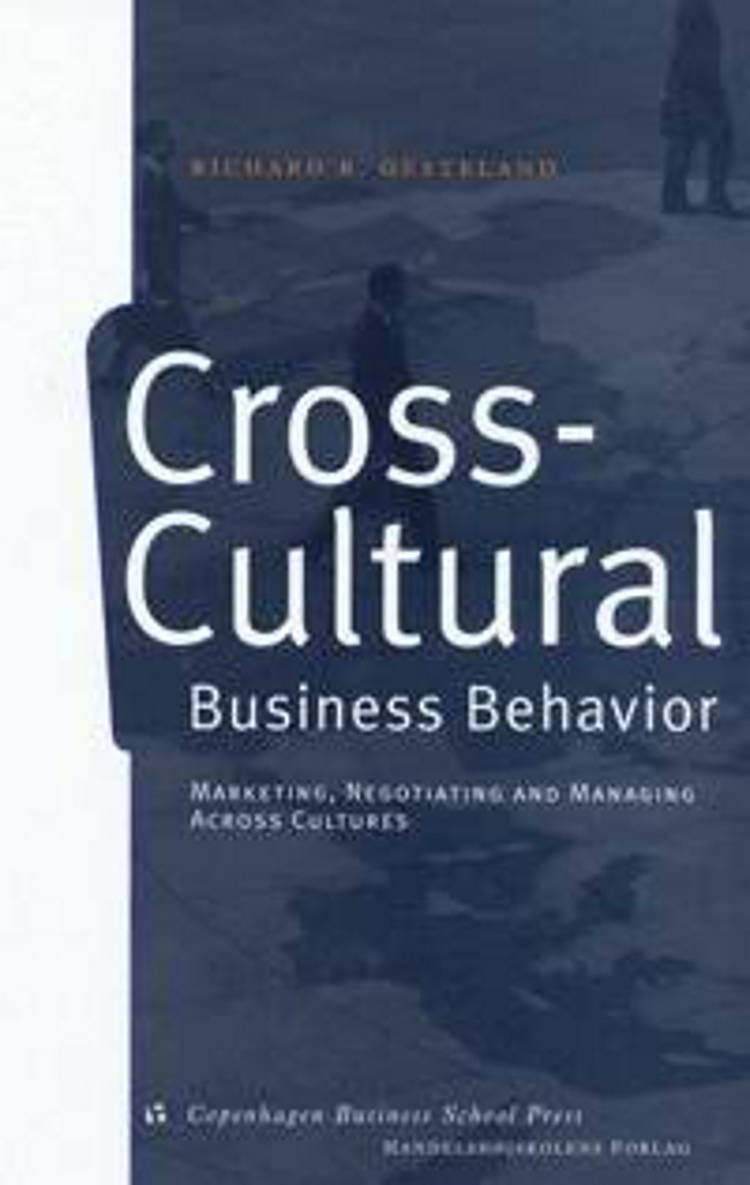 Cross-cultural business behavior af Richard R. Gesteland