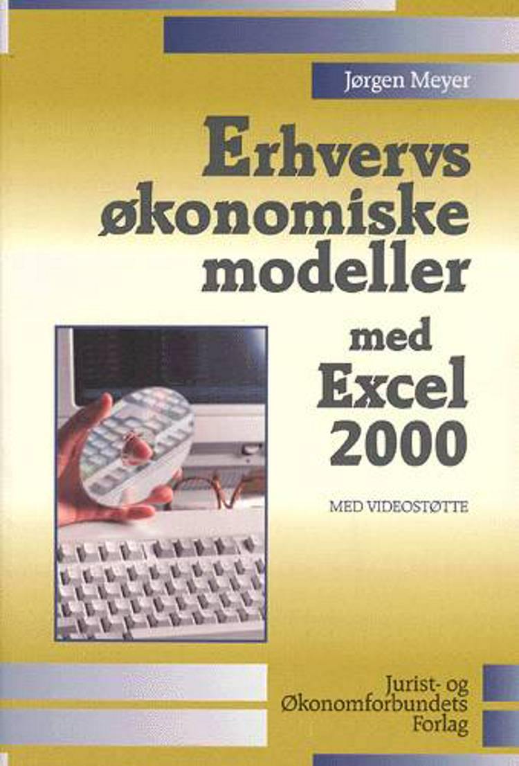 Erhvervsøkonomiske modeller med Excel 2000 af Jørgen Meyer