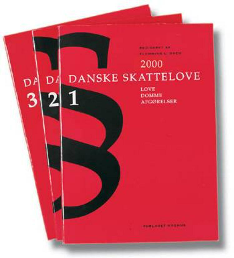 Danske skattelove 2000 af Flemming L. Bach