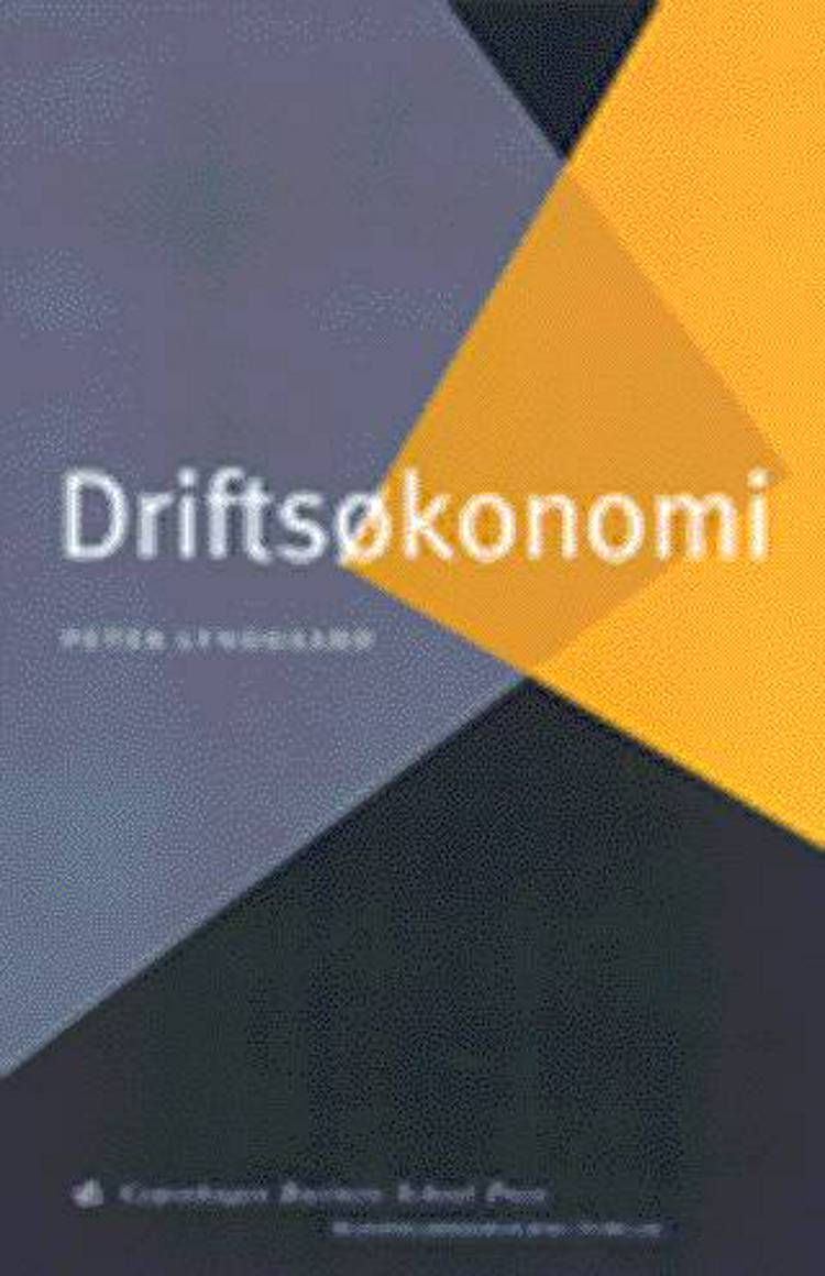 Driftsøkonomi af Peter Lynggaard