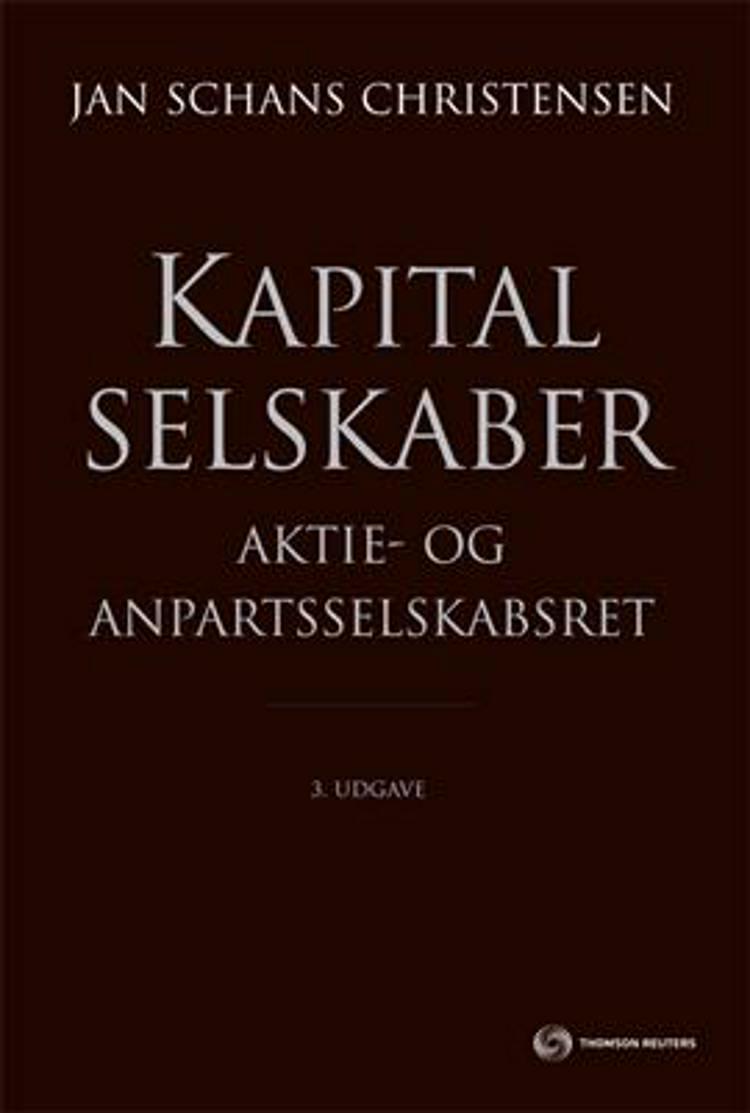 Kapitalselskaber af Jan Schans Christensen, René Frydshou og Mark Gall