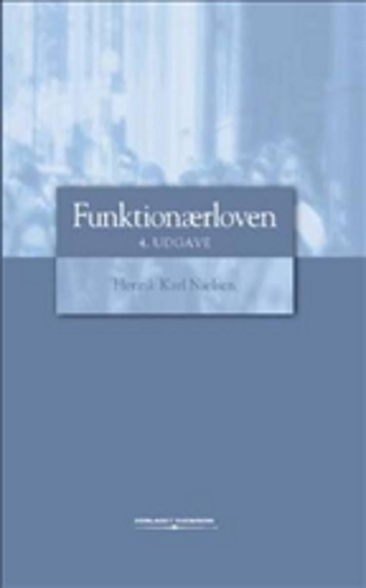 Funktionærloven med kommentarer af Henrik Karl Nielsen