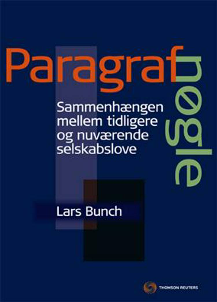Paragrafnøgle af Lars Bunch