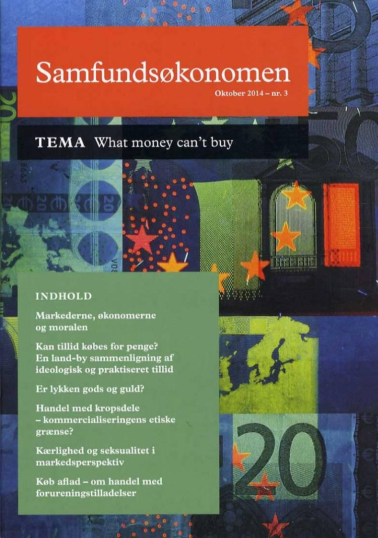 Samfundsøkonomen af Mette Wier