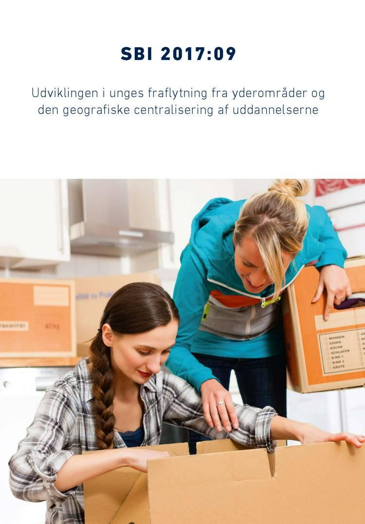 Udviklingen i unges fraflytning fra yderområder og den geografiske centralisering af uddannelserne af Hans Skifter Andersen