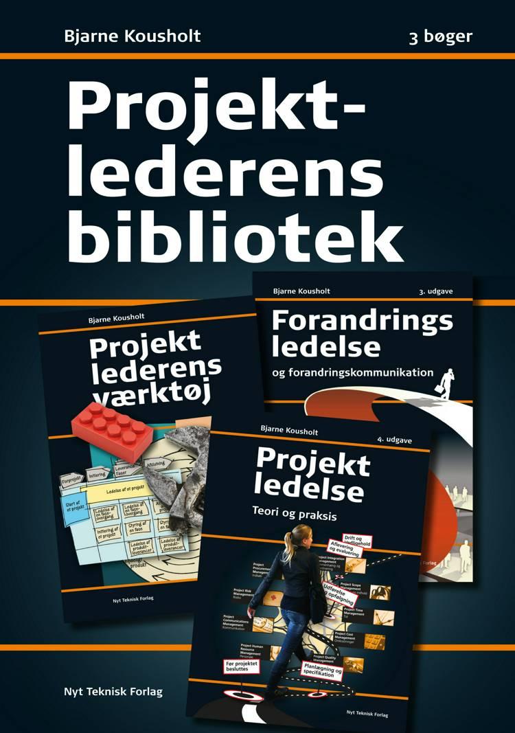 Projektlederens bibliotek af Bjarne Kousholt