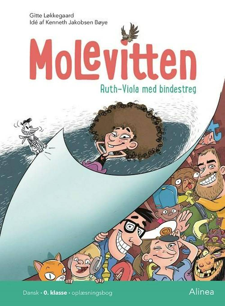 Molevitten, Ruth-Viola med bindestreg af Gitte Løkkegaard