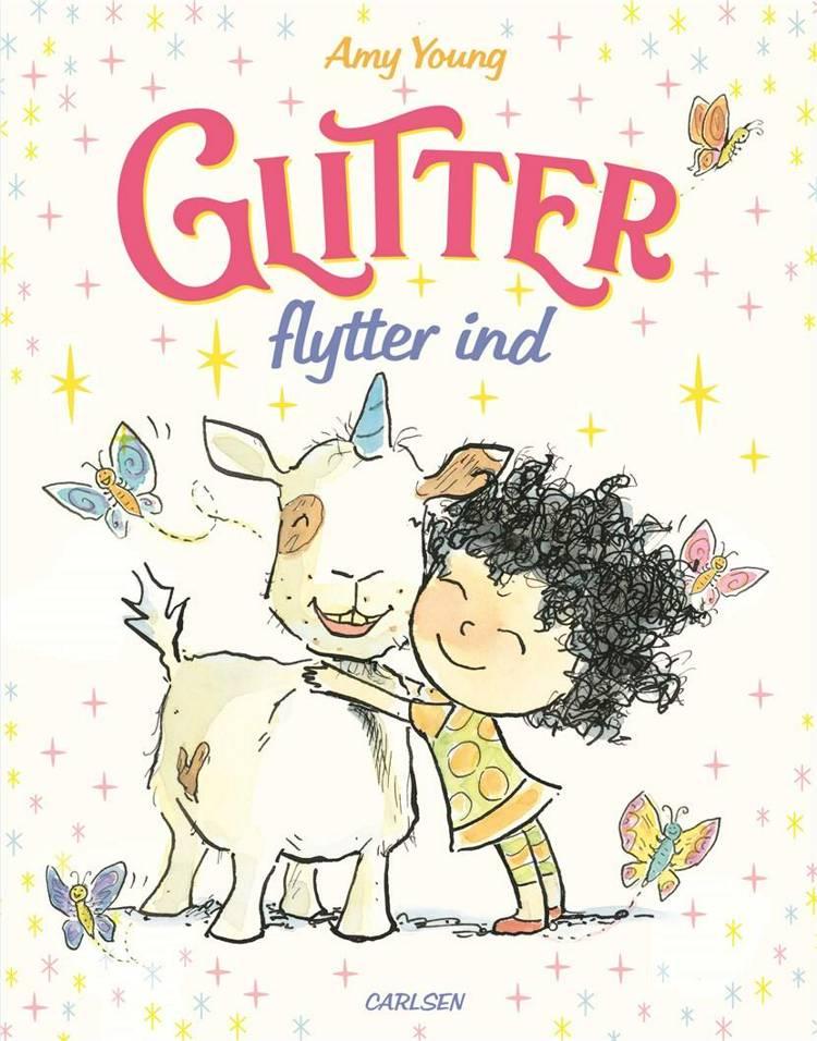Enhjørningen Glitter (1) - Glitter flytter ind af Amy Young