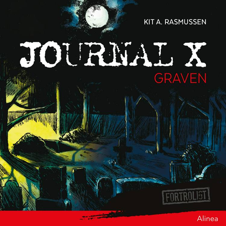 Journal X - Graven af Kit A. Rasmussen