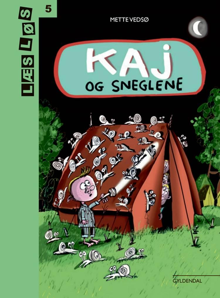 Kaj og sneglene af Mette Vedsø