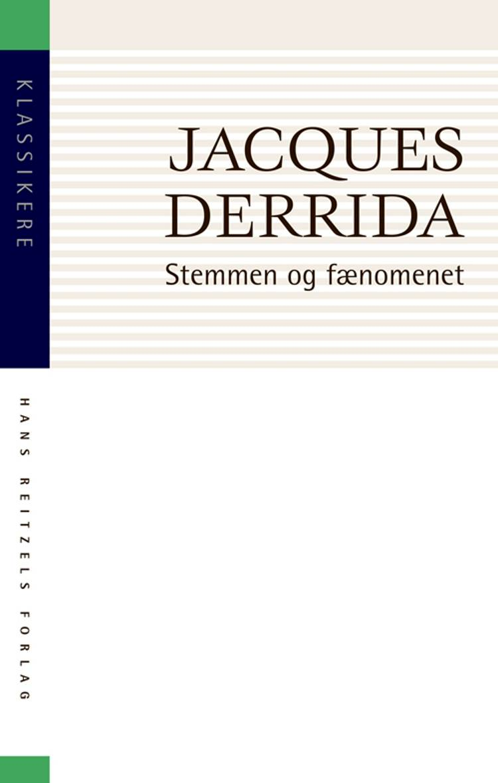 Stemmen og fænomenet af Jacques Derrida