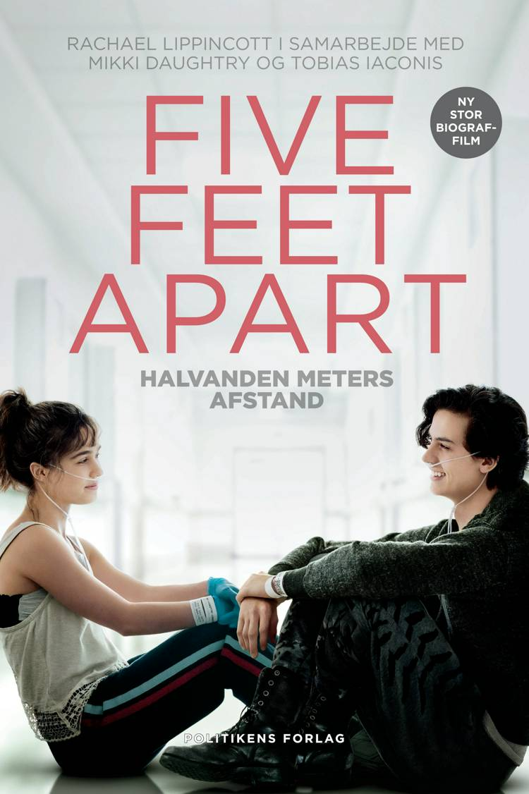 Five feet apart af Tobias Laconis, Rachael Lippincott, Mikki Daughtry og Tobias Iaconis