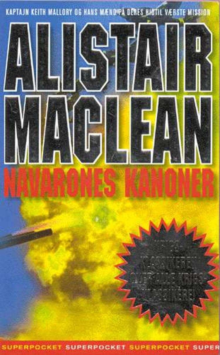Navarones kanoner af Alistair MacLean