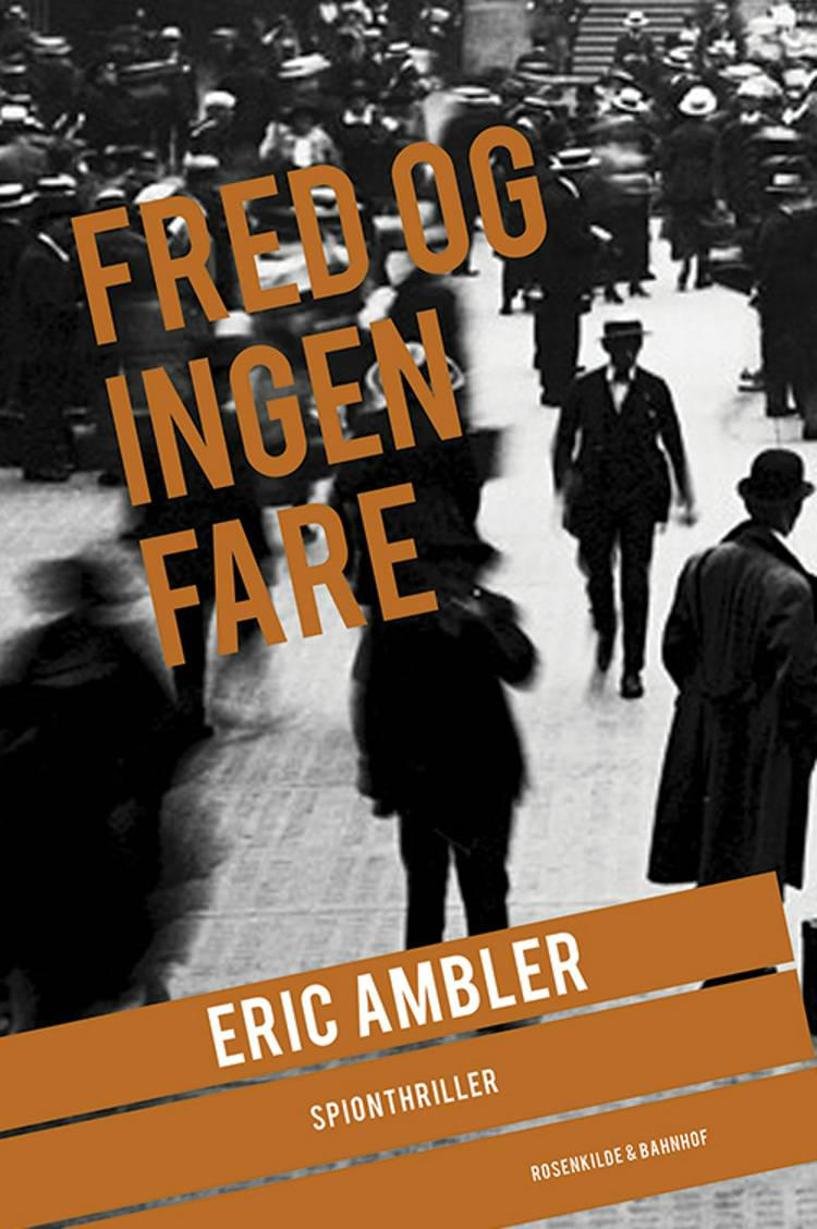 Fred og ingen fare af Eric Ambler