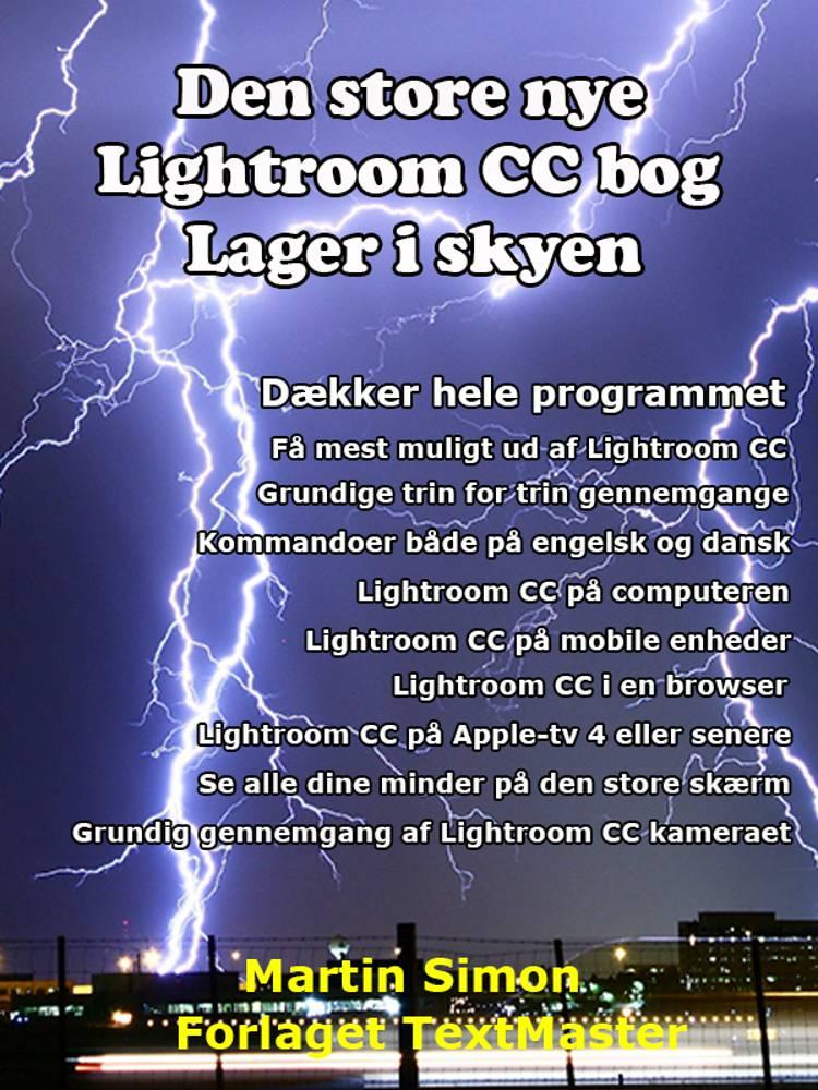 Den store nye Lightroom CC bog af Martin Simon