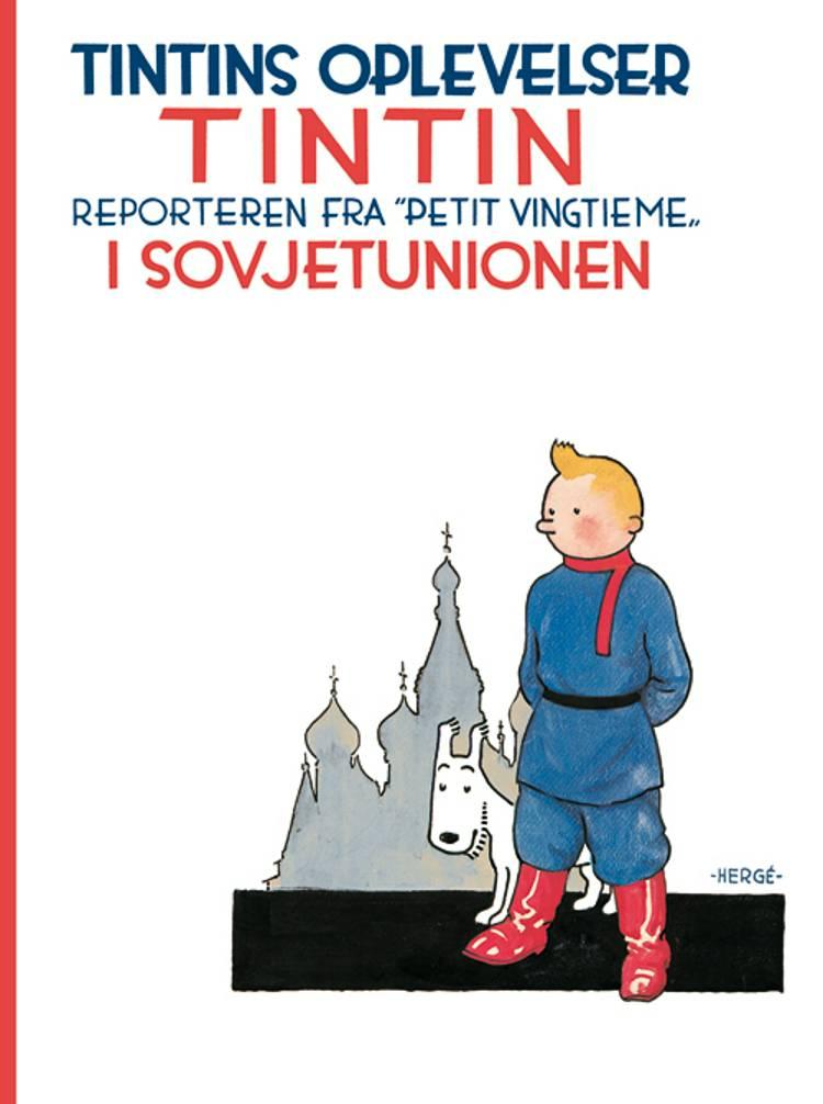 Tintin i Sovjetunionen - softcover af Hergé