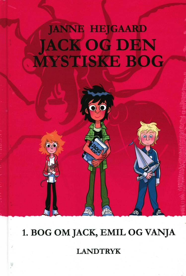 JACK, EMIL, VANJA - foliepakke med 3 bøger af Janne Hejgaard