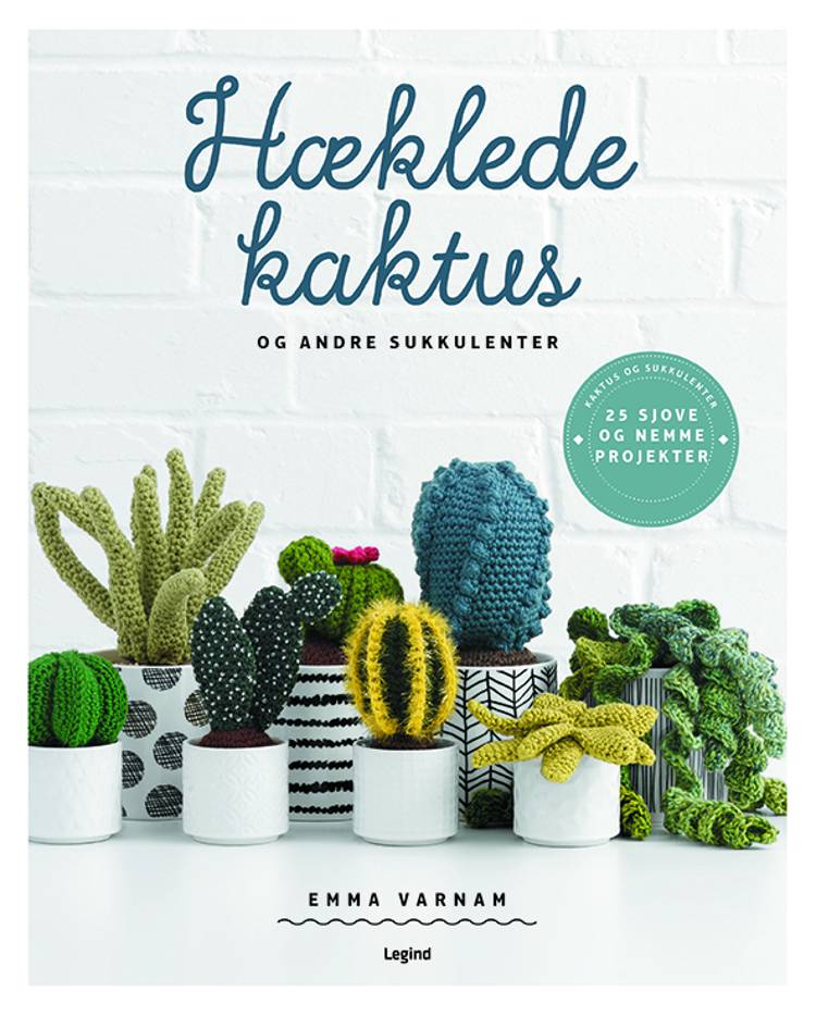 Hæklede kaktus af Emma Varnam