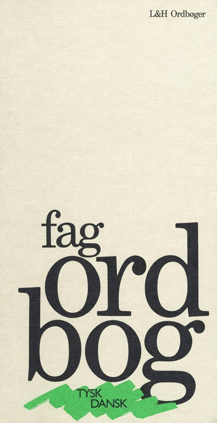 Fagordbog, tysk-dansk af Thomas Arentoft Nielsen