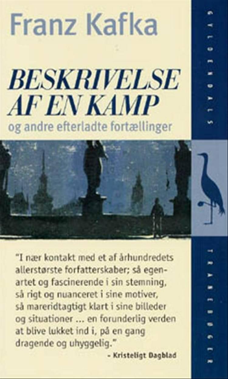 Beskrivelse af en kamp og andre efterladte fortællinger af Franz Kafka