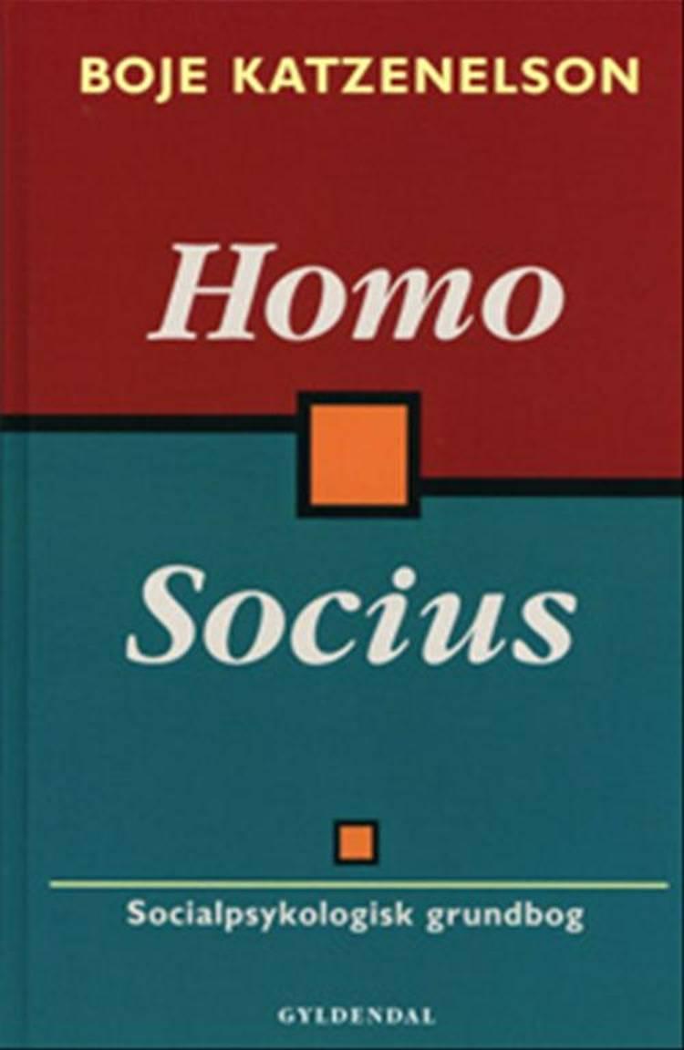 Homo Socius af Boje Katzenelson