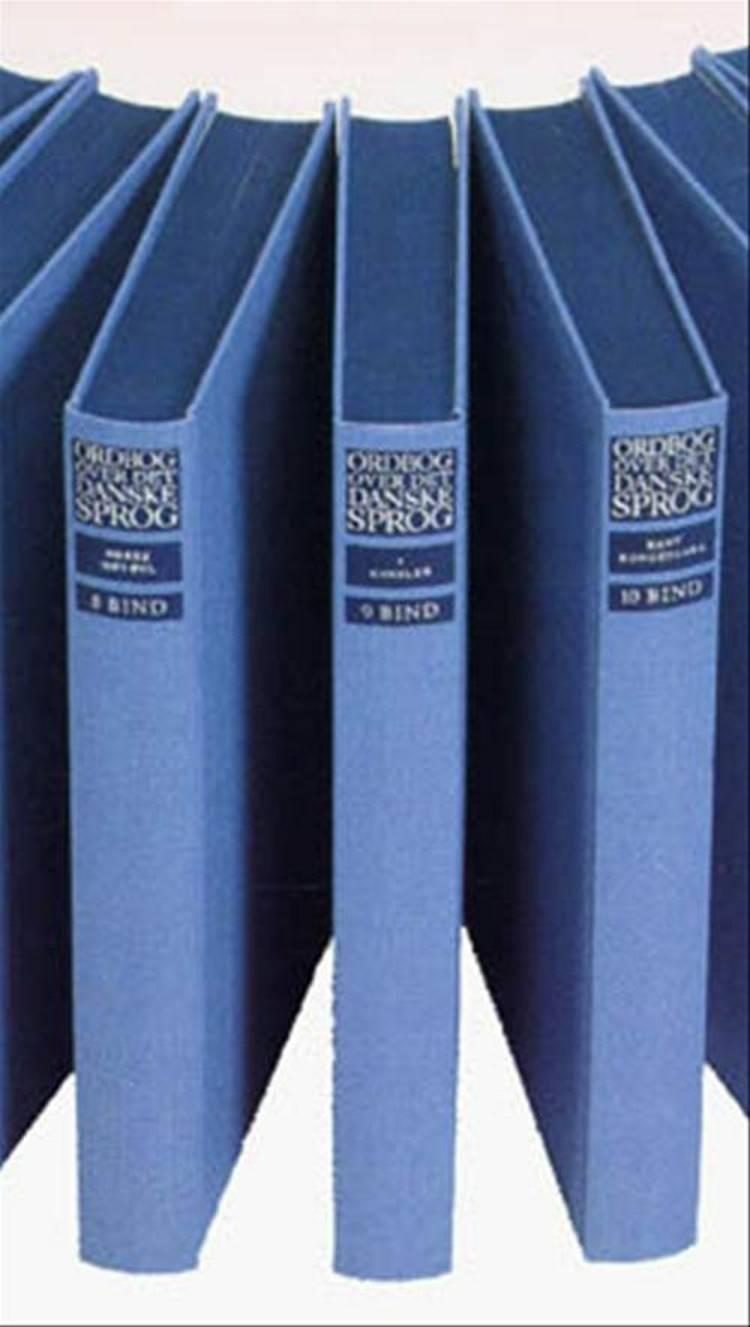 Ordbog over det danske Sprog - 28 bind + 5 supplementsbind af Maria Krogh Langner Det Danske Sprog- og Det Danske Sprog- & Litteraturselskab