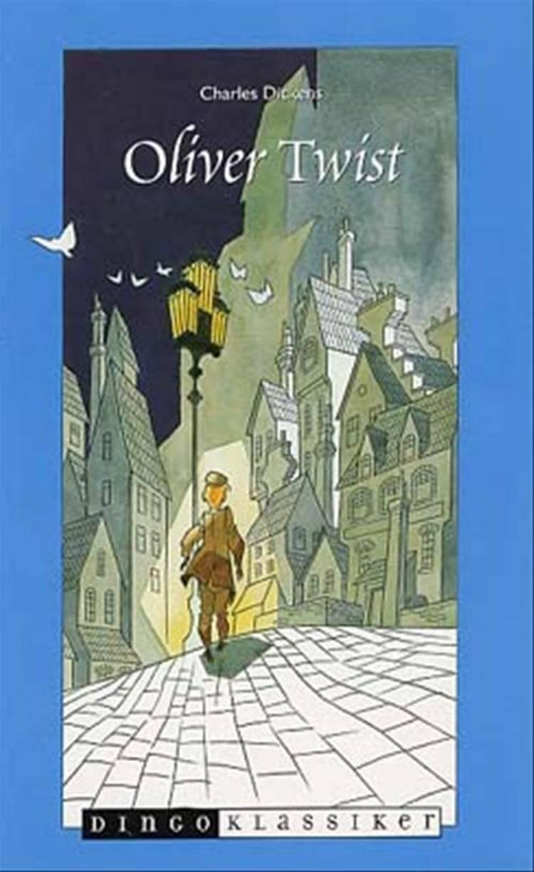 Oliver Twist (forkortet, illustreret) af Charles Dickens og Bent Faurby