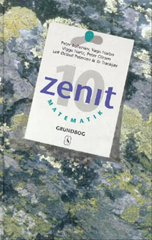 Zenit 10 - matematik af Peter Bollerslev, Vagn Harbo, Viggo Hartz og Ib Trankjær m.fl.