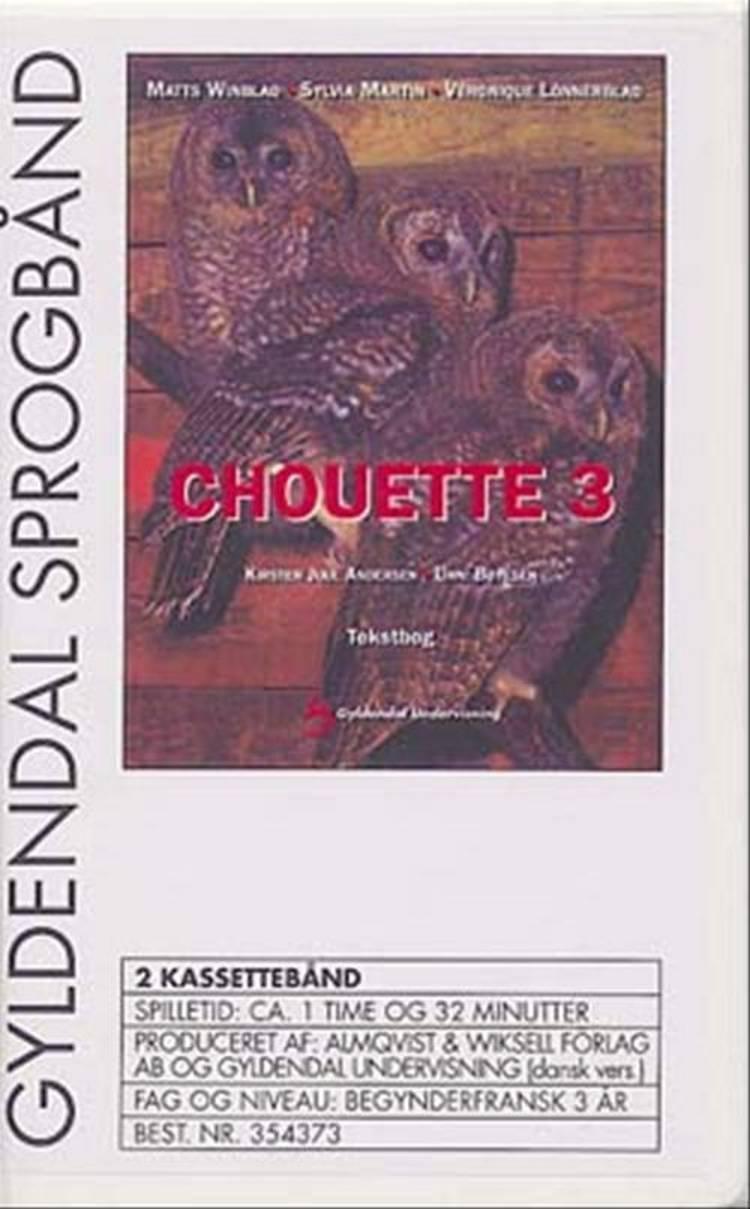 Chouette 3, tekstbog af Kirsten Juul Andersen og Unni Bøjesen
