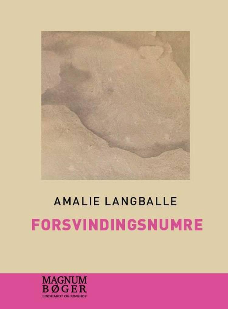 Forsvindingsnumre (Storskrift) af Amalie Langballe