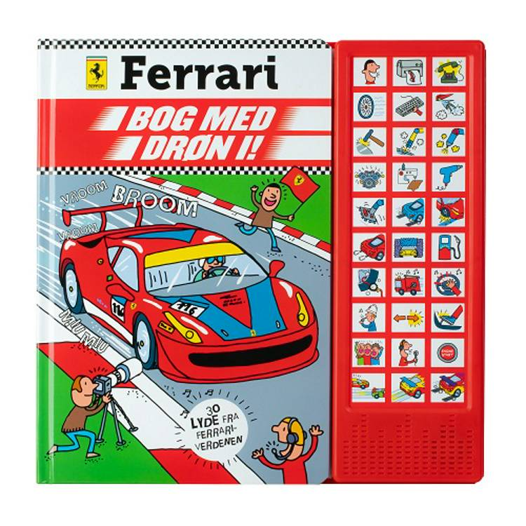 Ferrari Roaring 30 knappers Lydbog