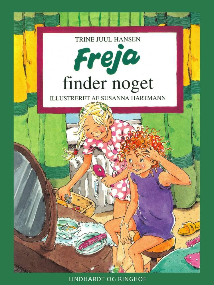 Freja finder noget af Trine Juul Hansen