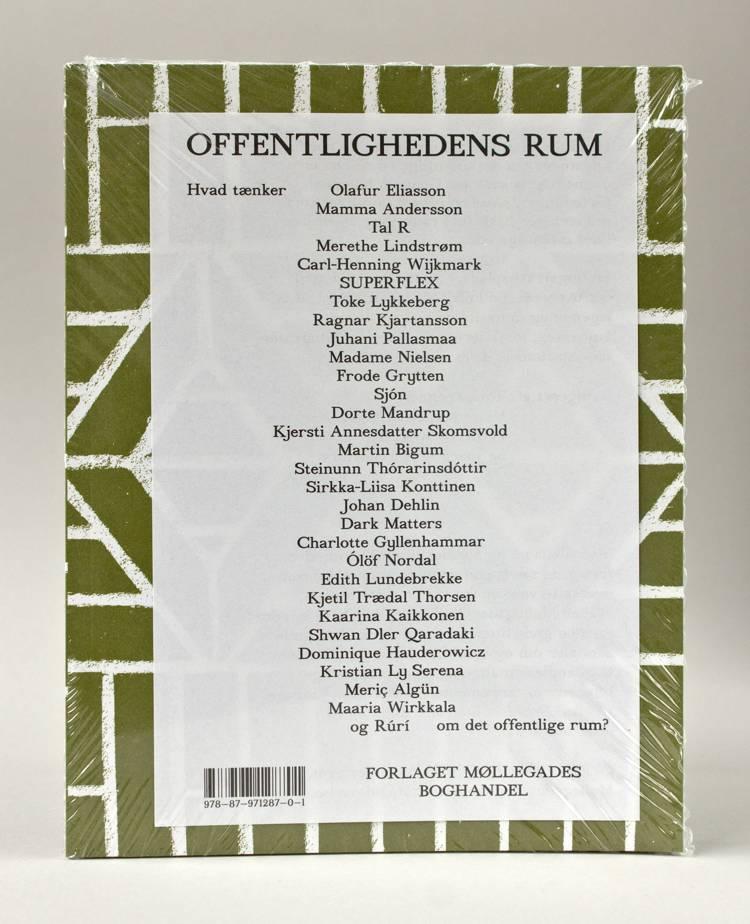 Offentlighedens rum af Olafur Eliasson, Tal R og Mamma Andersson m.fl.
