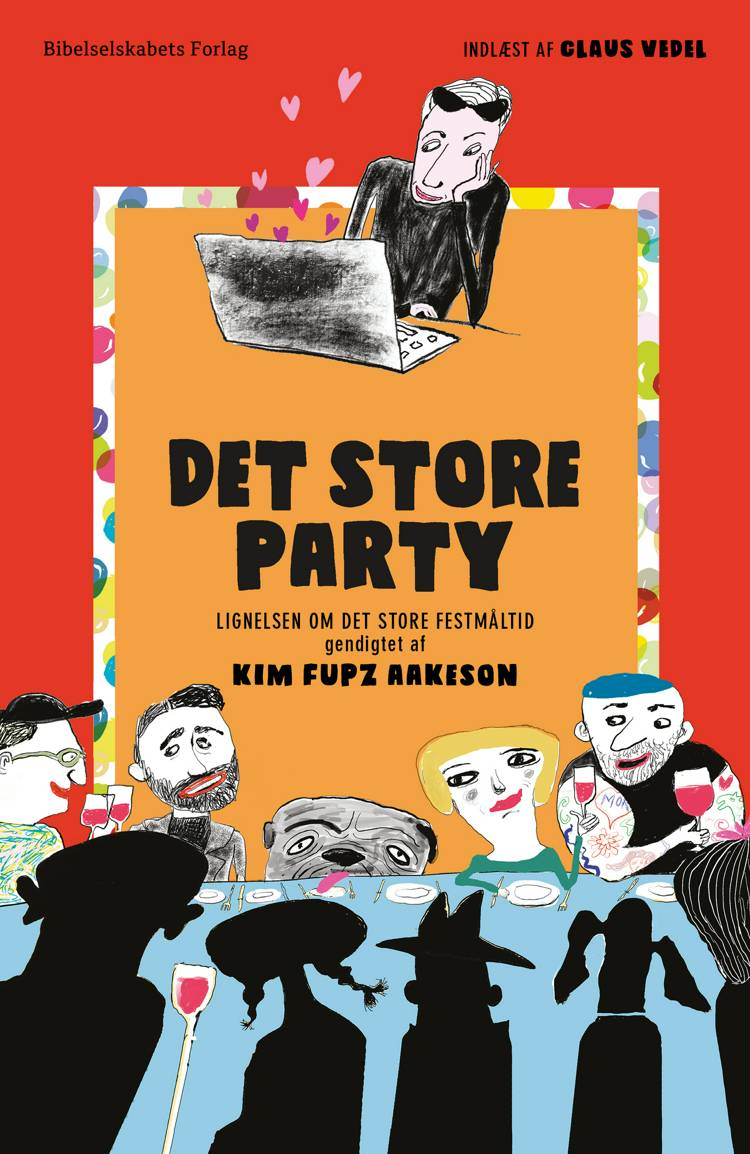 Det store party af Kim Fupz Aakeson