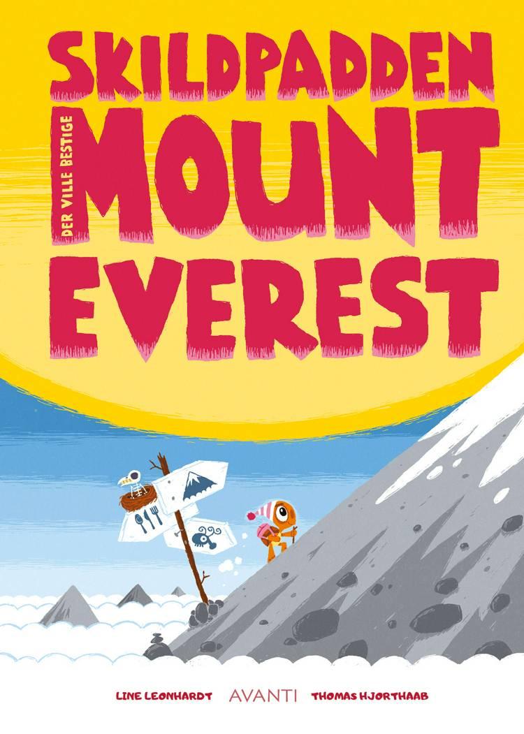 Skildpadden der ville bestige Mount Everest af Line Leonhardt