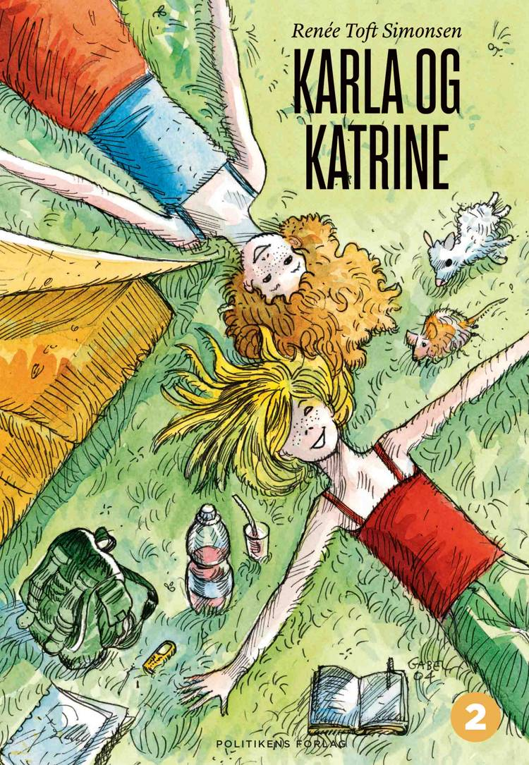 Karla og Katrine af Renée Toft Simonsen