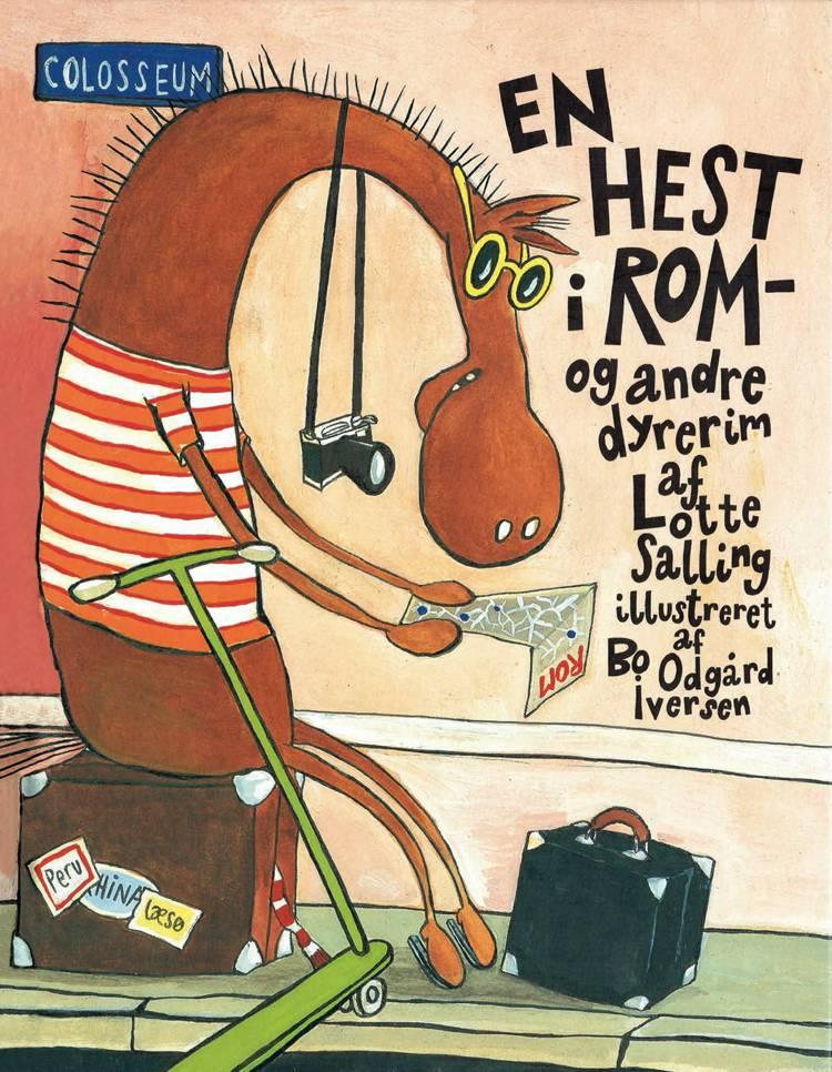 En hest i Rom af Lotte Salling