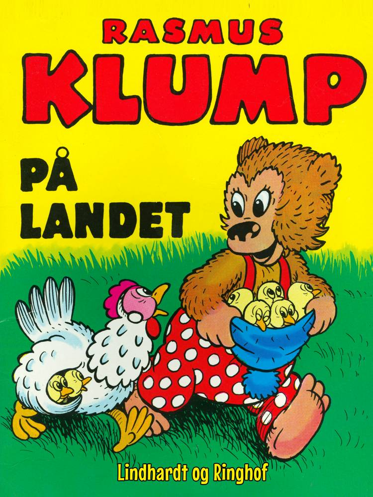 Rasmus Klump på landet af Vilhelm Hansen og Carla Hansen