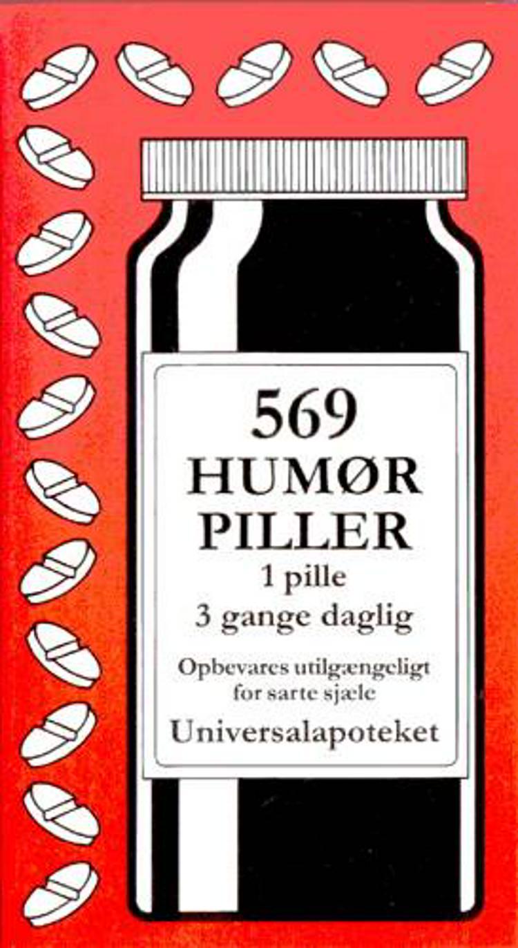 569 humørpiller af Jacob Wisby