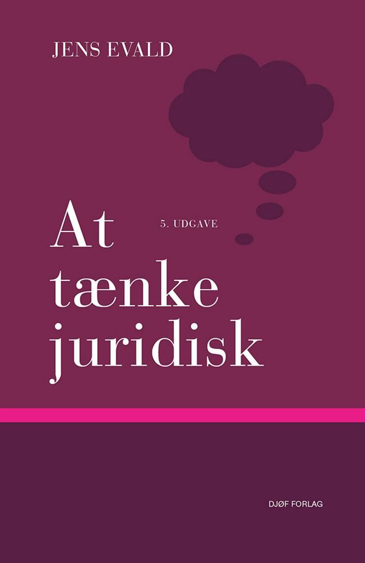 At tænke juridisk af Jens Evald