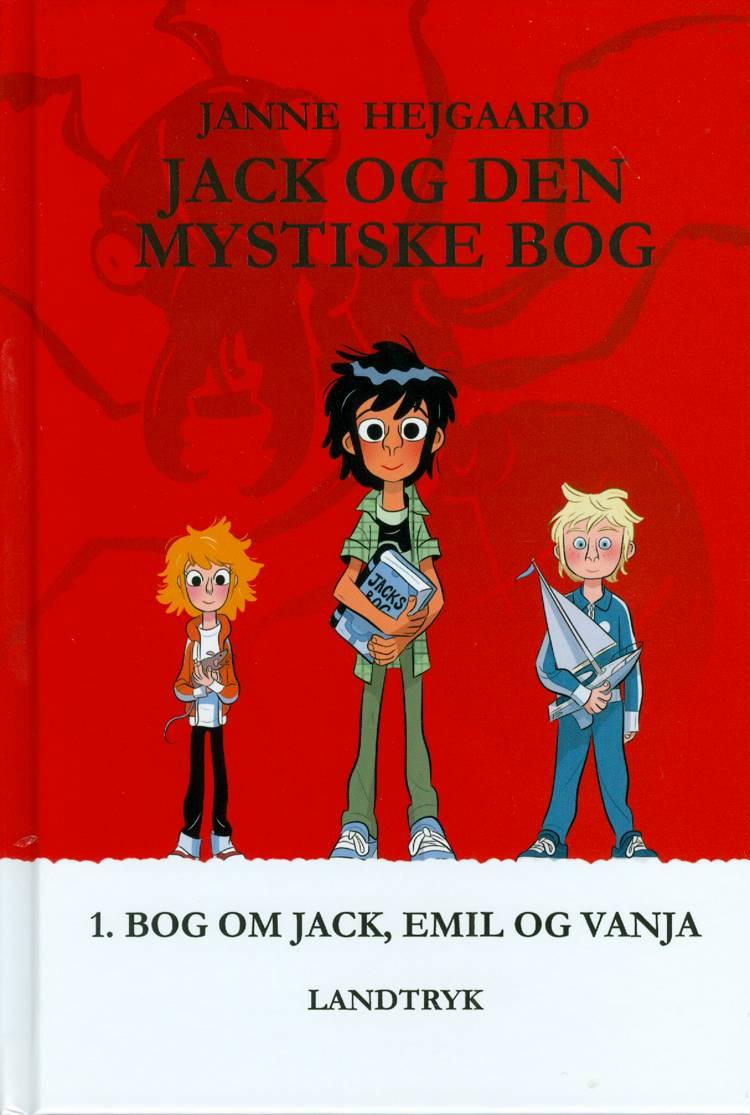 Jack og den mystiske bog af Janne Hejgaard