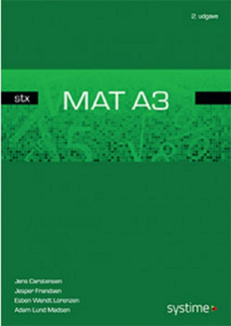 Mat A3 - stx af Jesper Frandsen, Jens Carstensen og Jens Studsgaard