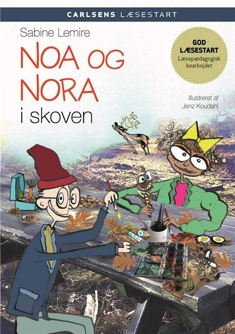 Carlsens læsestart - Noa og Nora i skoven af Sabine Lemire