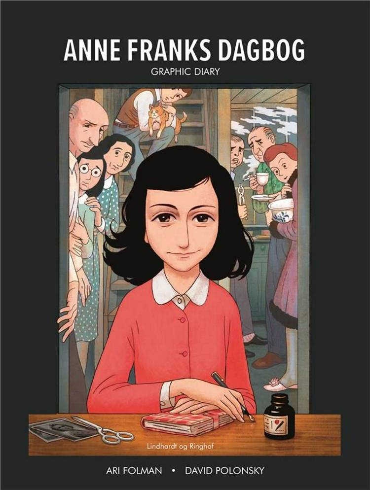 Anne Franks Dagbog graphic novel af Anne Frank