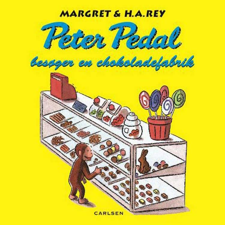 Peter Pedal besøger en chokoladefabrik af H.A. Rey, Margret Rey, Margret og H.a. Rey