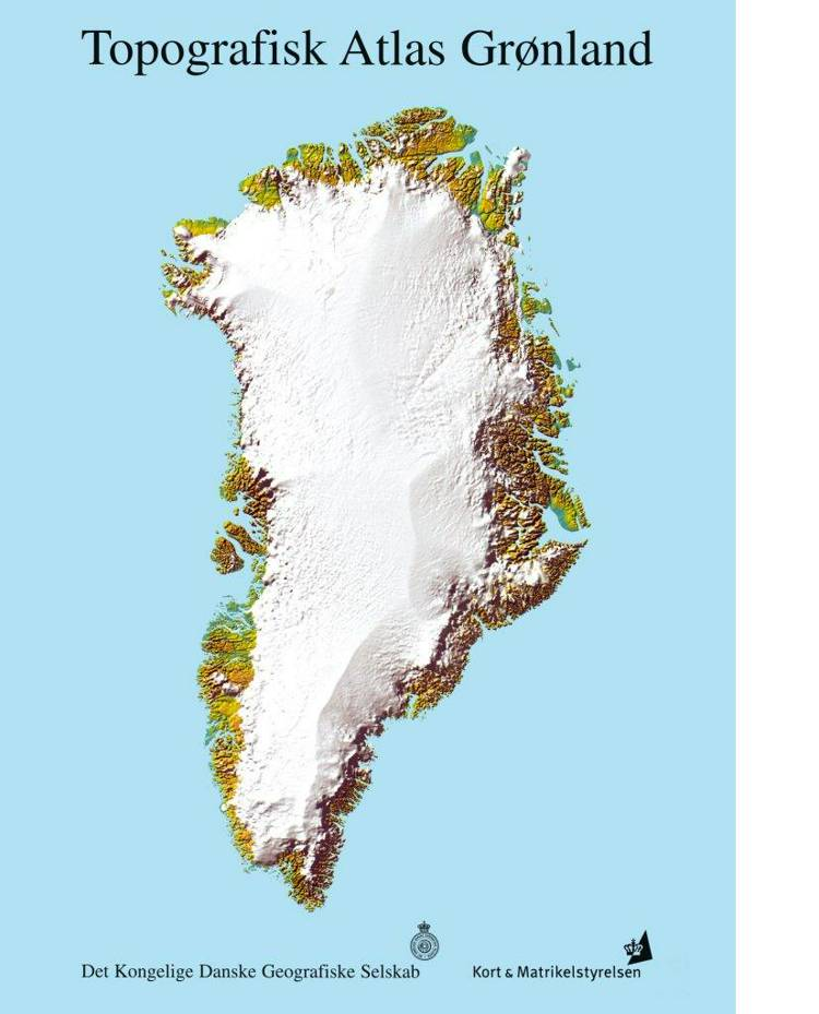 Topografisk Atlas Grønland